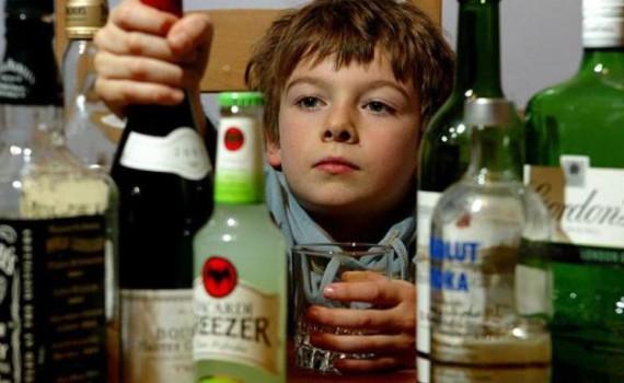 Дети алкоголиков пьют
