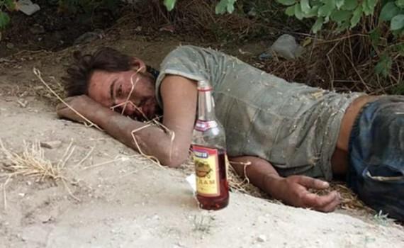 Смерть алкоголика