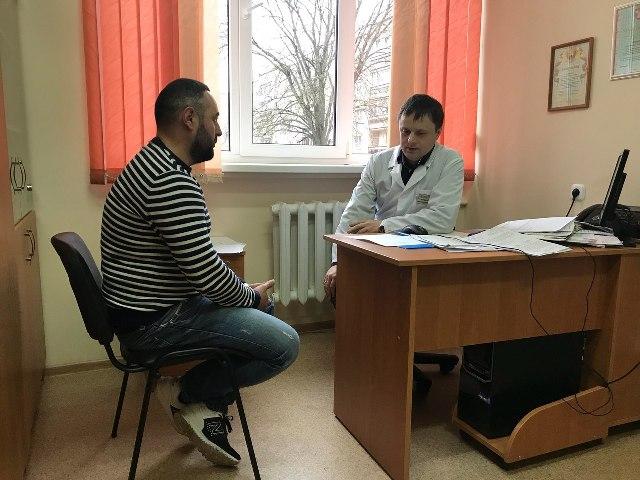 Посещение наркологии в Жодино