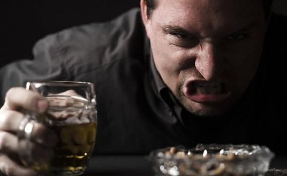 Алкоголик и психические проблемы